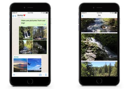 Novedades en WhatsApp: llegan los álbumes de fotos y los filtros