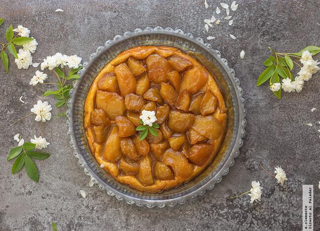 Tarta Tatin De Manzana Receta De Postre Fácil Sencillo Y Delicioso