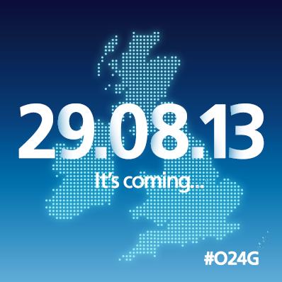 Telefónica anuncia el despliegue de 4G ... en Reino Unido