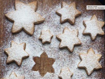 Mantecados de almendra. Receta de Navidad con y sin Thermomix