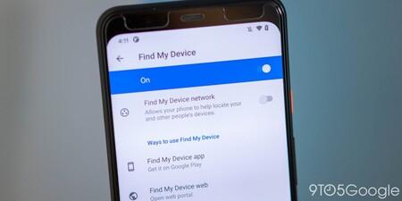 Google Spot Find My Device 1