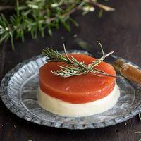 Mousse de queso fresco de cabra con dulce de membrillo: receta