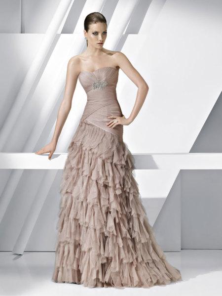 60fb070db Pronovias vestidos de fiesta 2012  quiero uno en color pastel