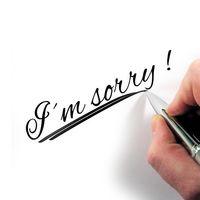 Lo siento mucho, me he equivocado