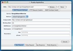 SOAP Client: Software cliente para probar servicios web