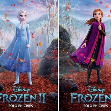 Frozen 2: Disney presenta seis nuevos pósters de los protagonistas en esta próxima película, que estará llena de magia