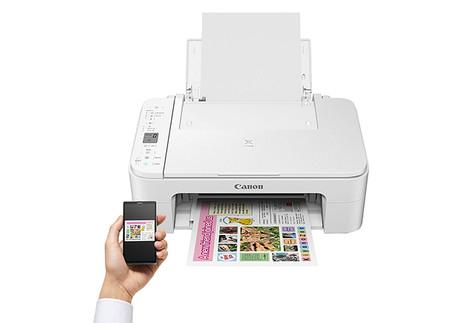 Impresora Multifuncional Canon Pixma Ts3151 Blanca Wifi De Inyeccion De Tinta