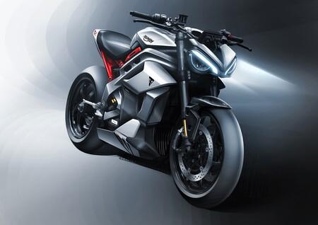 Triumph adelanta los primeros datos de su futura moto eléctrica: 180 CV para un motor de 10 kg