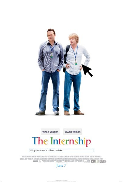 Cartel de 'The Internship'