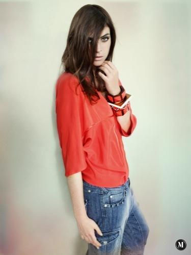 Los must-haves de Mango para esta Primavera-Verano 2009, blusón rojo