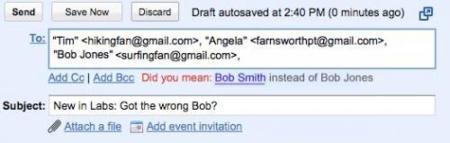 Got the Wrong Bob!, a ver a quien le envías los correos