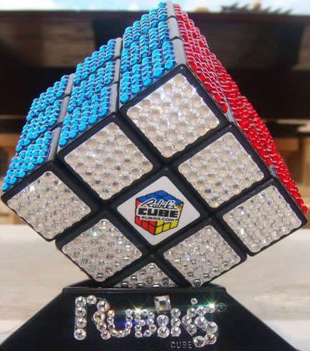¿Te aburres? ¿Qué tal un cubo de Rubik de lujo?