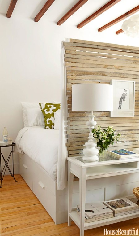 Pequeno Apartamento Decorado En Blanco