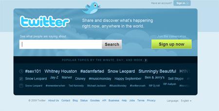 Una guía de perfiles de Twitter sobre televisión