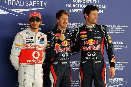 Pole de Sebastian Vettel y doblete de Red Bull en el Gran Premio de India