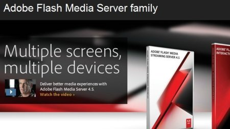 Adobe lanza Flash Media Server, vídeo en Flash para dispositivos iOS