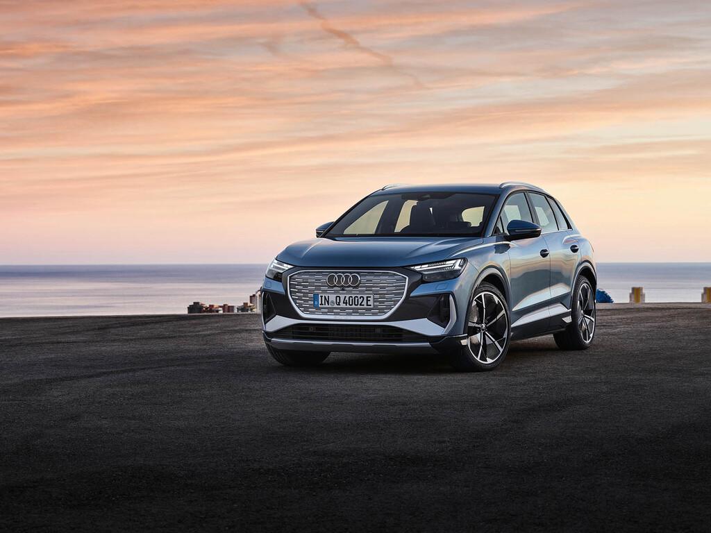 El nuevo Audi Q4 e-tron es un SUV eléctrico compacto de hasta 300 CV y 520 km de autonomía