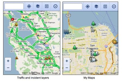 Google Maps actualizado para móviles