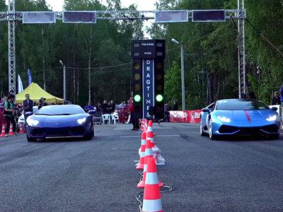 ¿Te sorprenderías si te digo que el Lamborghini Huracán es casi tan rápido como el Aventador?