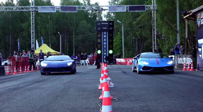 Lamborghini Huracan Vs Aventador