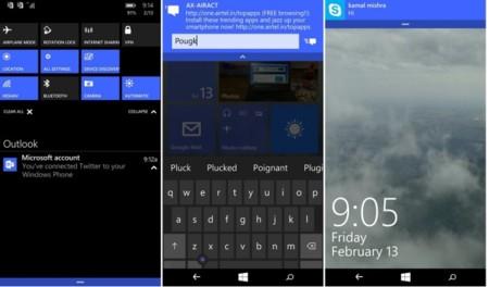 Estas son las novedades oficiales de la última build de Windows 10 para móviles