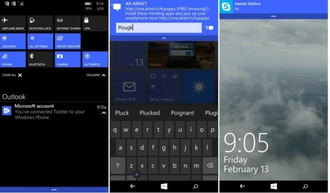Windows10 Moviles Lastbuild