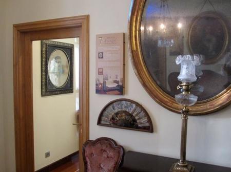 Habitación en la Casa Museo Menéndez Pelayo
