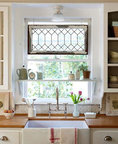 Buena o mala idea una ventana encima del fregadero - Fotos de bancos para sentarse ...