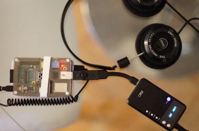 Usando un DAC USB de la marca FiiO