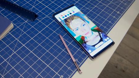 El Samsung Galaxy Note 9 y sus 6,4 pulgadas de pantalla