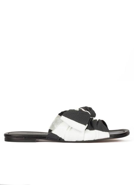 Pura Lopez Ss20 Aq308 Betis White Calf Black 220eur