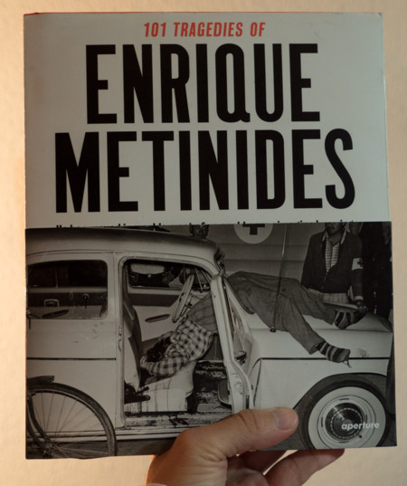 '101 tragedies of Enrique Metinides': un gran libro para tener en cuenta