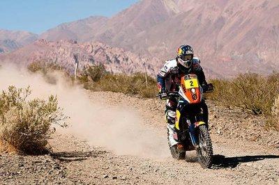 Dakar 2012: San Rafael - San Juan, etapa 3