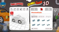 Imaginieer te deja diseñar tu juguete e Imaginarium lo imprime en 3D para ti