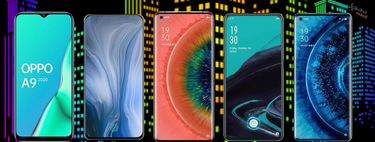 OPPO Find X2 and X2 Pro, this is how they fit into the complete catalog of OPPO phones in 2020