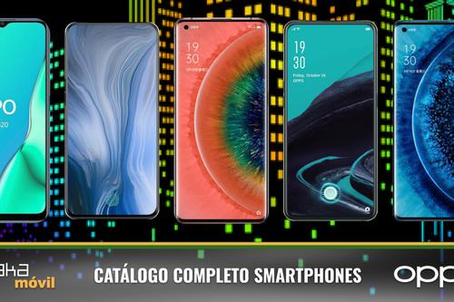 OPPO Find X2 y X2 Pro, así encajan dentro del catálogo completo de móviles OPPO en 2020