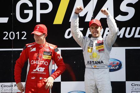 Dani Juncadella vence en el GP Masters de F3 de Zandvoort