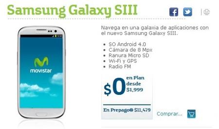 Samsung Galaxy S3 Movistar México
