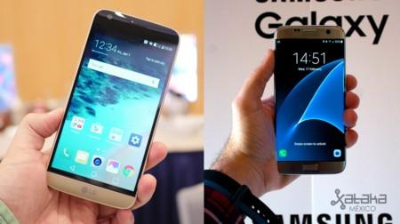 Samsung Galaxy S7 y LG G5, primeras impresiones de los dos primeros buques insignia de 2016