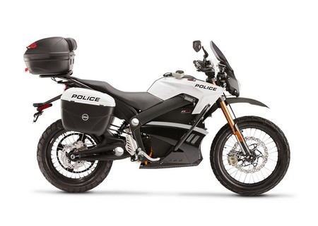 Moto eléctrica Zero DS de policía