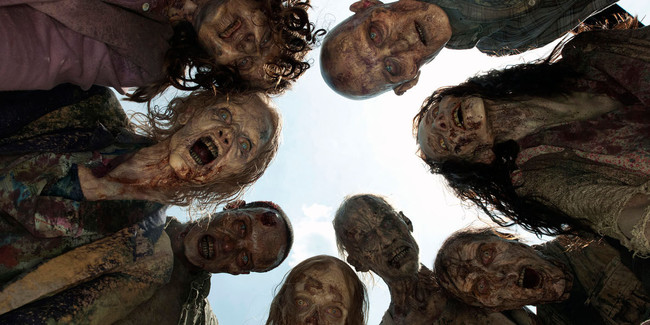 Walking Dead Cine Zombi