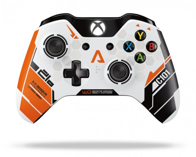 TitanFall viste a un exclusivo y espectacular mando para la Xbox One