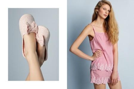 oysho pv 2014 rosa pijama
