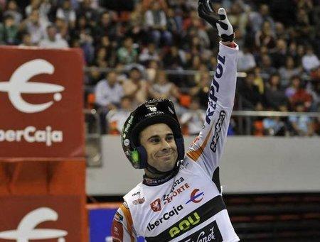 Toni Bou comienza venciendo en el Campeonato de España de Trial Indoor 2011