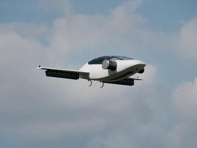El increíble taxi volador eléctrico y con despegue vertical de Lilium finalmente ha realizado su primer vuelo
