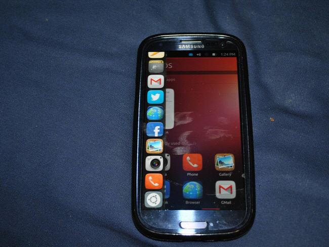 Ubuntu en el Samsung Galaxy S III