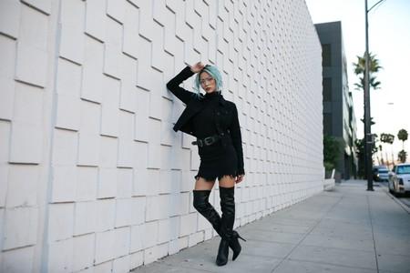 botas mosqueteras negras
