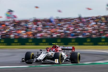 Giovinazzi Silverstone F1 2019