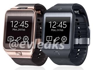 Un primer vistazo a los smartwatch que le harán compañía al Galaxy S5 en su lanzamiento