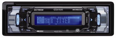 Clarion DXZ778RUSB, con tecnología de restauración de sonido
